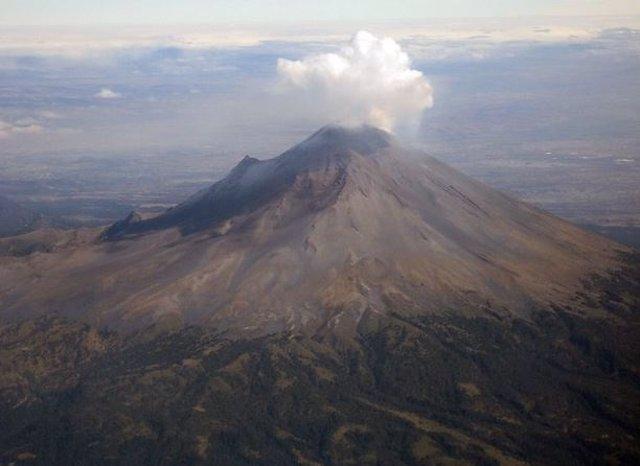 Volcán Popocatépelt