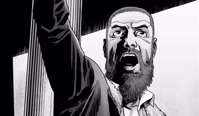 Imagen del cómic de The Walking Dead