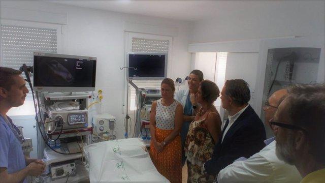 Visita al Hospital de Linares