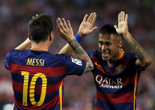 Messi y Neymar liman los colmillos del Atleti