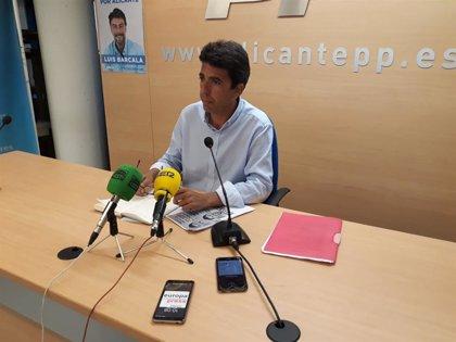Carlos Mazón, nou president de la Diputació d'Alacant