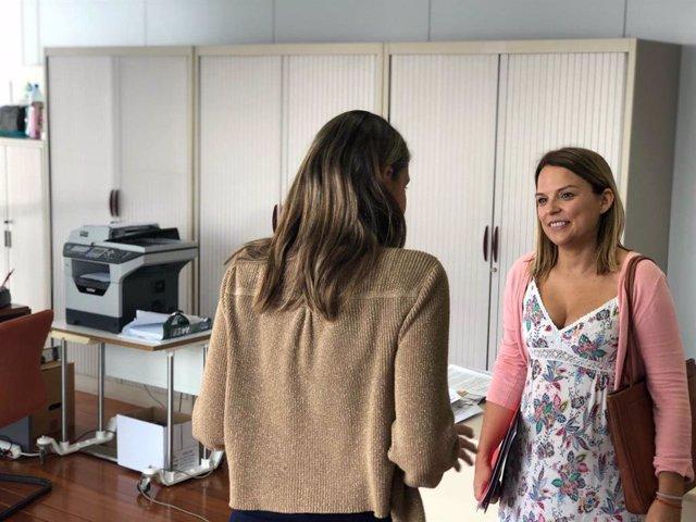 Consejera de Derechos Sociales, Igualdad, Diversidad y Juventud del Gobierno de Canarias, Noemí Santana (Unidas Podemos)