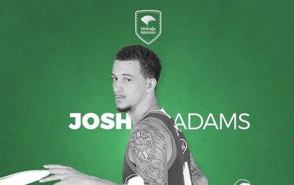 El base estadounidense Josh Adams firma por el Unicaja