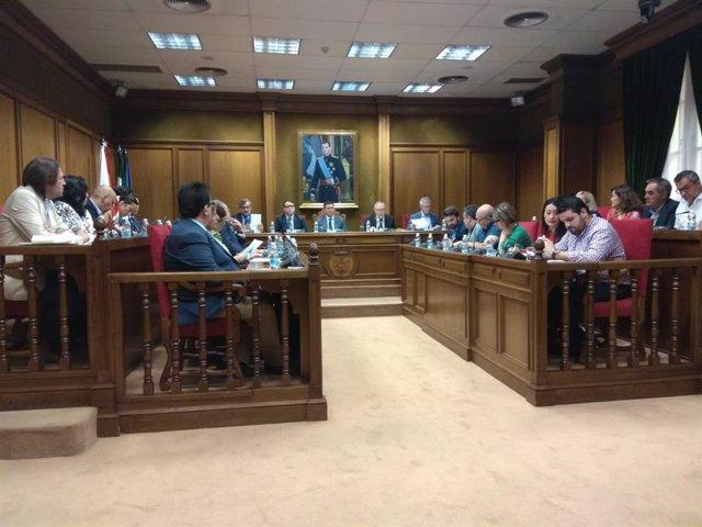 Pleno de la Diputación Provincial de Almería