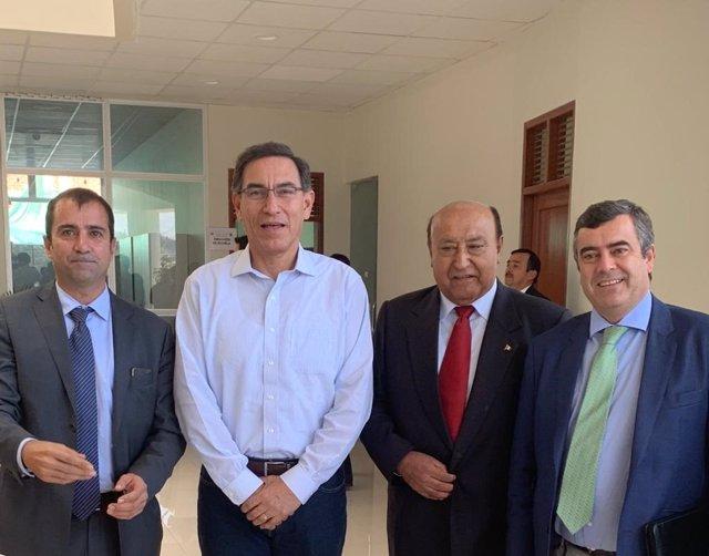 Acuerdo de Sacyr en Perú