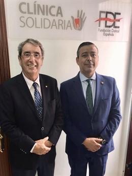 Rafael Carroquino y Óscar Castro