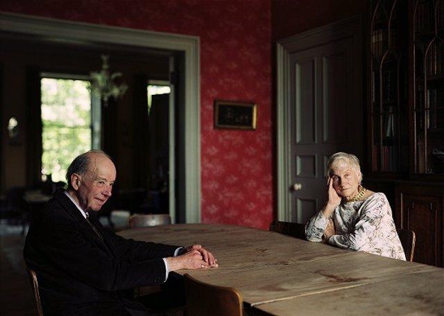 Obra de Thomas Struth 'Eleonor y Giles Robertson, Edimburgo 1987 (Eleonor and Giles Robertson, Edinburgh 1987)