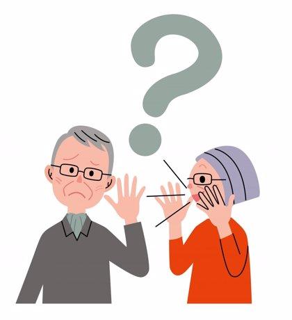 La pérdida de audición en los ancianos aumenta el riesgo de enfermedad mental y de problemas físicos y sociales