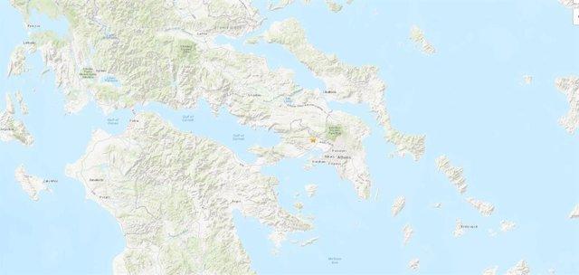 Terremoto en Magoula (Grecia) sentido en Atenas