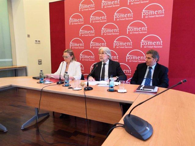 El president de Foment del Treball, Josep Sánchez Llibre