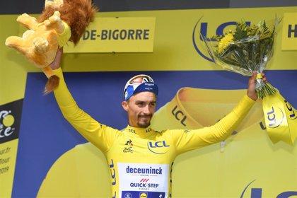 Alaphilippe defiende su amarillo en la crono y Mas se afianza como baza española en el Tour