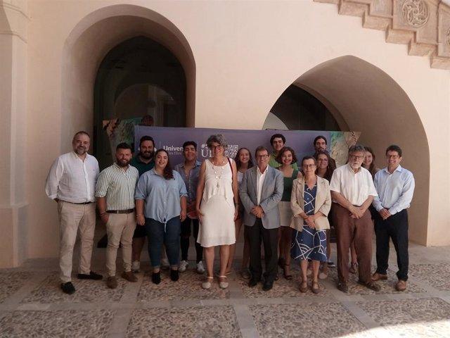 Ganadores de los premios de investigación de la UIB del curso 2018/2019