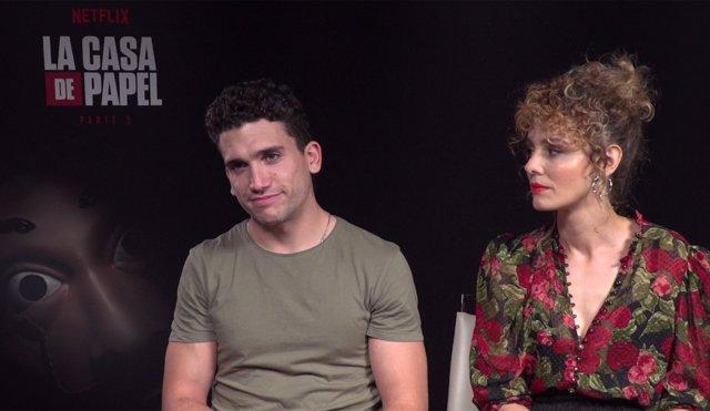 Entrevista con Jaime Lorente y Ester Acebo, protagonistas de La Casa de Papel
