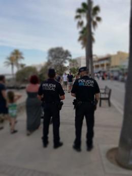 Una patrulla de la Policía Local de Son Servera