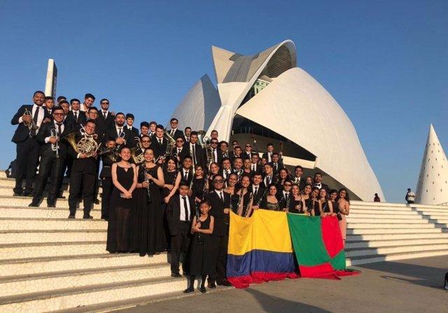 La Sinfónica de Paipa (Colombia) en Valencia