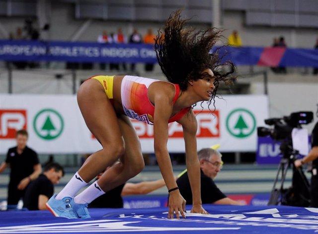 La atleta española María Vicente.