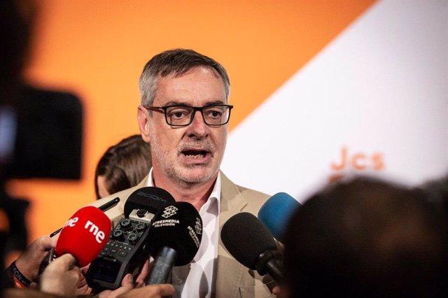 José Manuel Villegas, secretario general de Cs