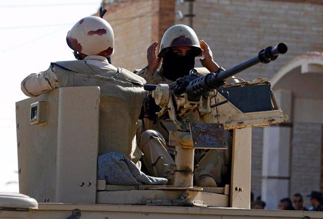 Despliegue militar en el Sinaí