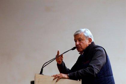 López Obrador recibe a legisladores estadounidenses en el Palacio Nacional