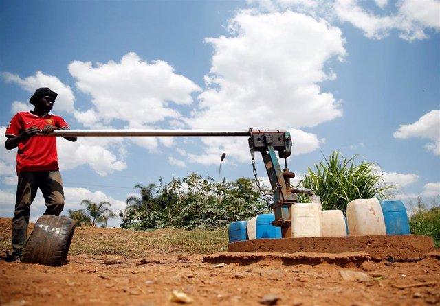 Crisis de agua en Harare (Zimbabue)