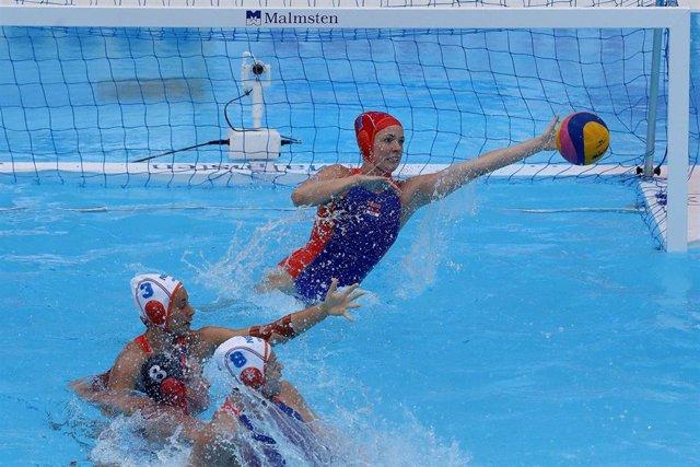 Países Bajos, rival de España para cuartos de final en el Mundial de waterpolo femenino.