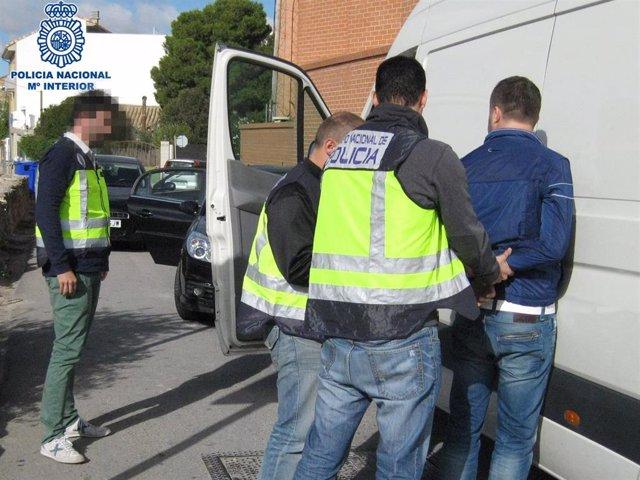 La Policía Nacional realiza 24 detenciones desde la creación del grupo de investigación de robos con violencia.