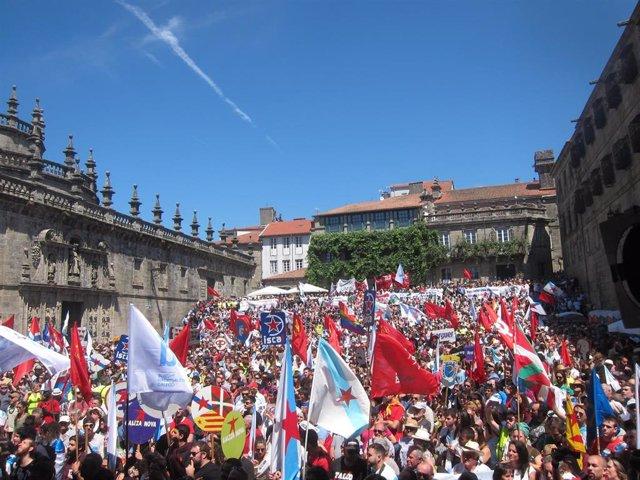 Manifestación del BNG del 25 de julio de 2017