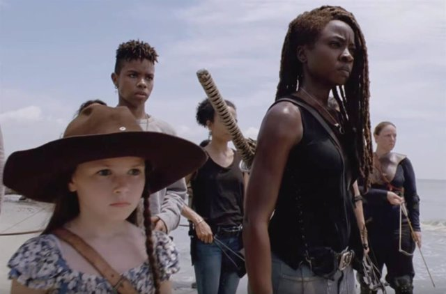 Danai Gurira en The Walking Dead