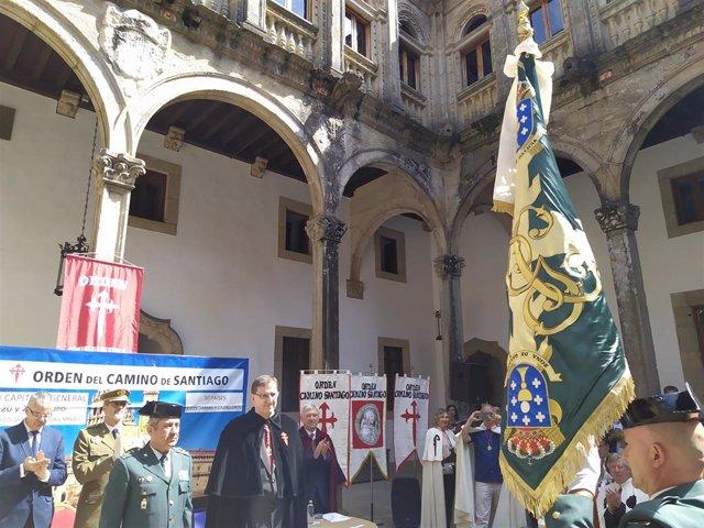 Entrega de la Corbata de la Orden del Camino de Santiago