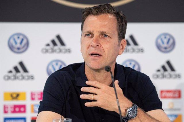 El director deportivo de la Federación Alemana de Fútbol (DFB), Oliver Bierhoff.
