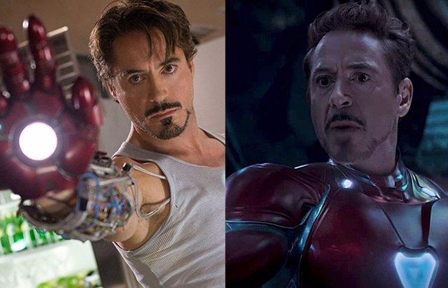 Iron Man, antes y después