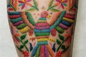 La nueva versión del tatuaje: bordado en la piel