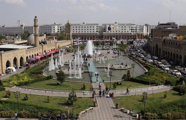 Erbil, en una imagen de archivo