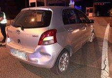Detingut un conductor ebri després de causar dos accidents a la Jonquera (Girona) (MOSSOS D'ESQUADRA)