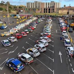 Vehículos participantes del VI Rallye Ciudad de La Laguna