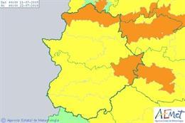 Avisos por calor en Extremadura para este domingo