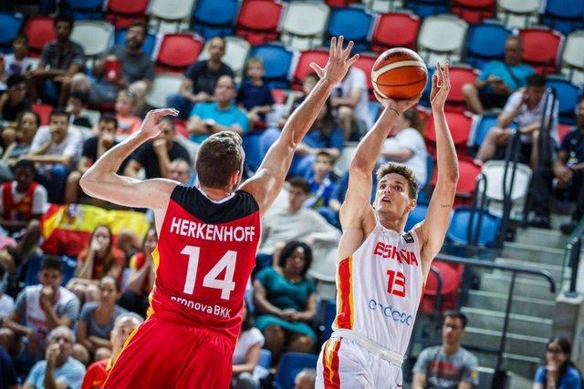 España vuelve a la final del Eurobasket Sub-20 masculino tres años después