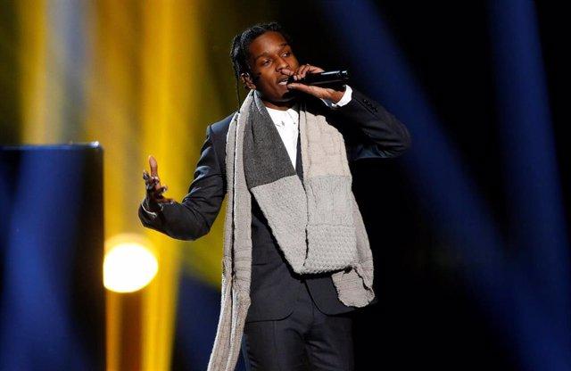 Rapero estadounidense A$AP Rocky