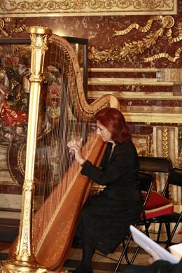 Música, Arpa, Instrumento