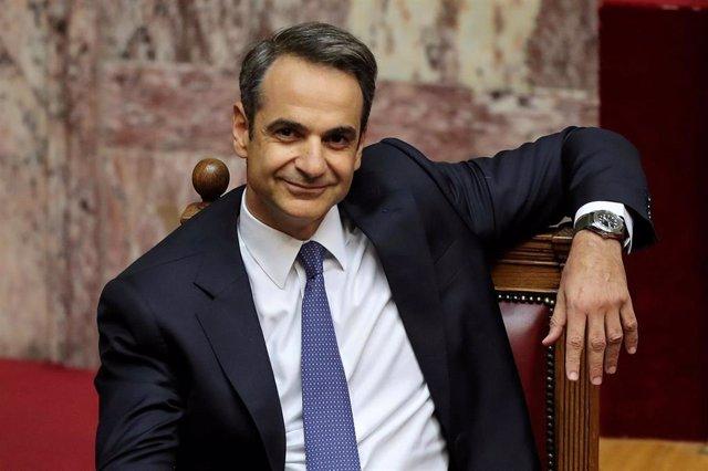 Kiriakos Mitsotakis, primer ministro de Grecia