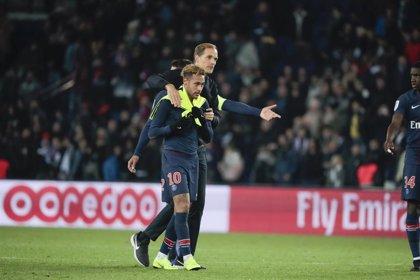 """Tuchel: """"Neymar es mi jugador y quiero que siga en el PSG"""""""