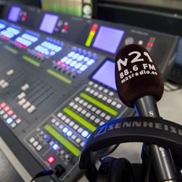 Estudios de M21 Radio