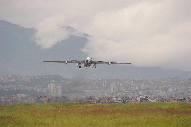 Avión e investigación atmosférica