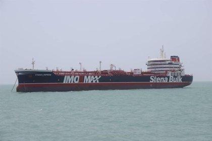 Irán difunde las imágenes del abordaje al petrolero británico 'Stena Impero'