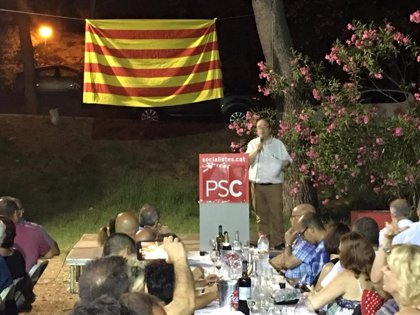 """Iceta (PSC) dice que """"se ha removido un obstáculo importante"""" en la negociación con Podemos"""