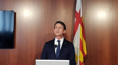 "Valls assegura que Barcelona ha estat ""la primera gran derrota"" de l'independentisme (EUROPA PRESS)"