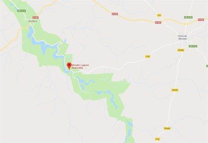 Rescatan a un hombre cuando se estaba ahogando en una laguna de Ossa de Montiel