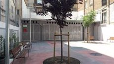 L'Ajuntament habilita un nou punt verd a l'avinguda de Vallcarca de Barcelona (AYUNTAMIENTO DE BARCELONA)