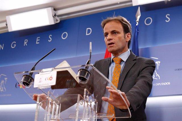 El diputado de En Comú Podem en el Congreso, Jaume Asens. Foto de archivo