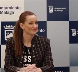 La concejala de Comercio y Vía Pública del Ayuntamiento de Málaga